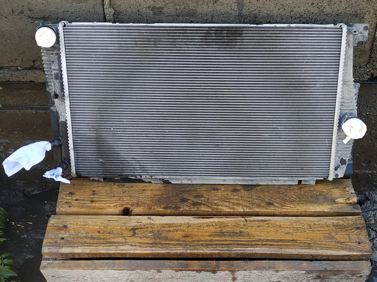 Радиатор в процессе мойки