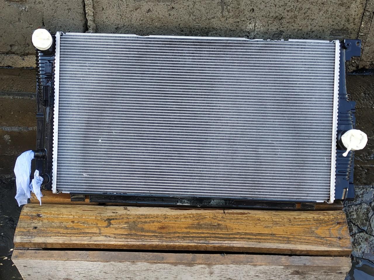 Радиатор F10 после мойки