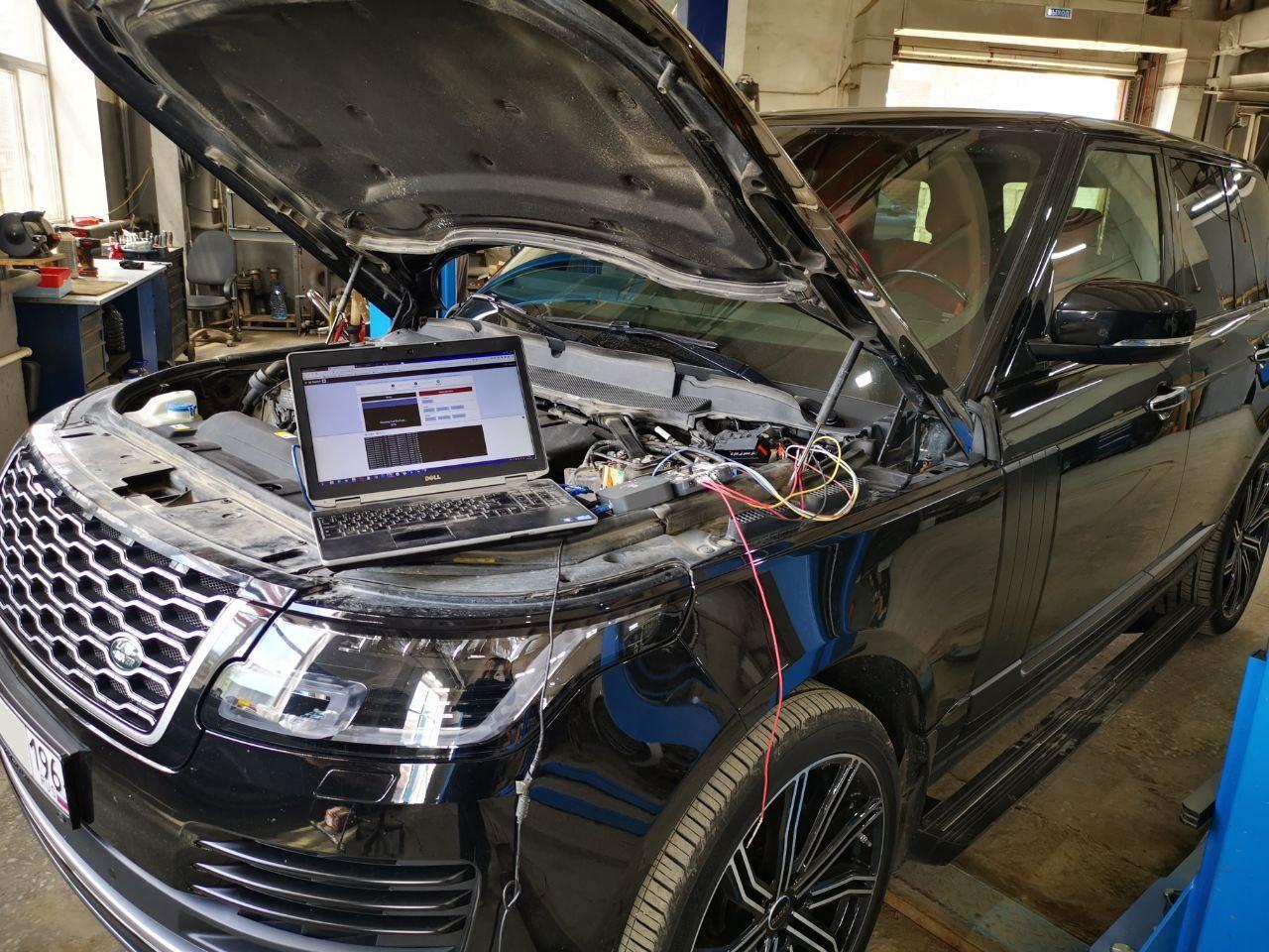 чип тюнинг, Range Rover 3.0 TD