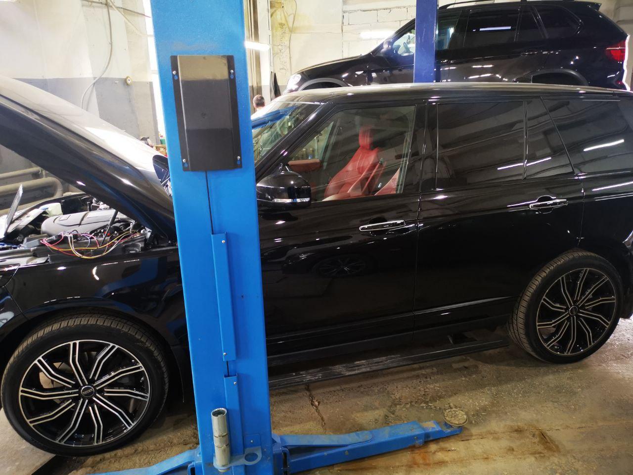 Range Rover 3.0 дизель, 2018 год выпуска