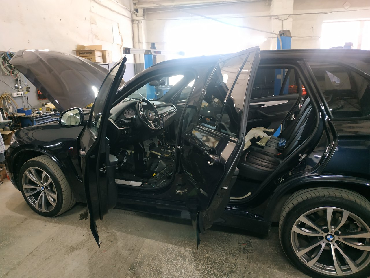 BMW X5 F15 2014, разборка салона