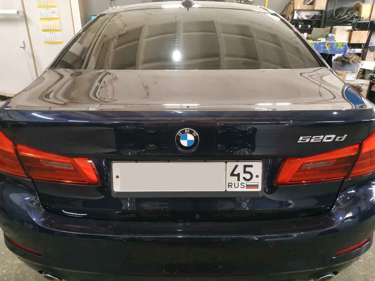 G30 520d, вид сзади