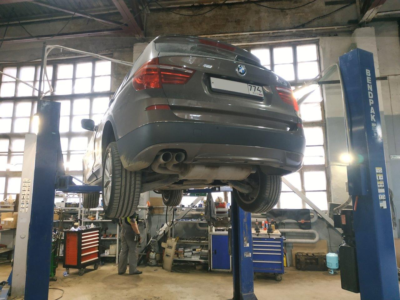 BMW X3 F25 30d дизель