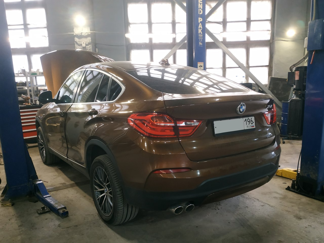 BMW X4 F26 30d 2016 г.в.