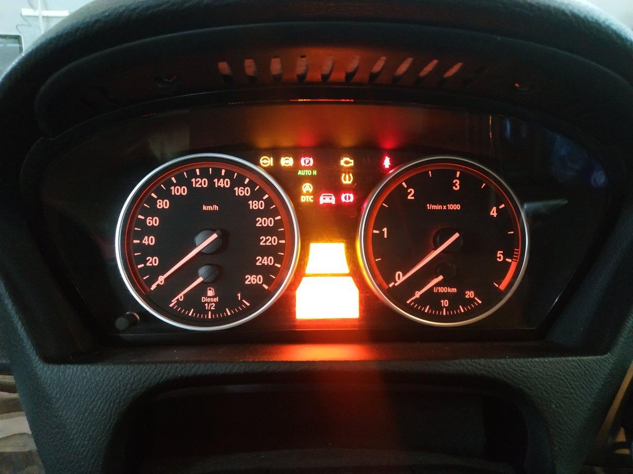 Не работает панель приборов, BMW X5 E70