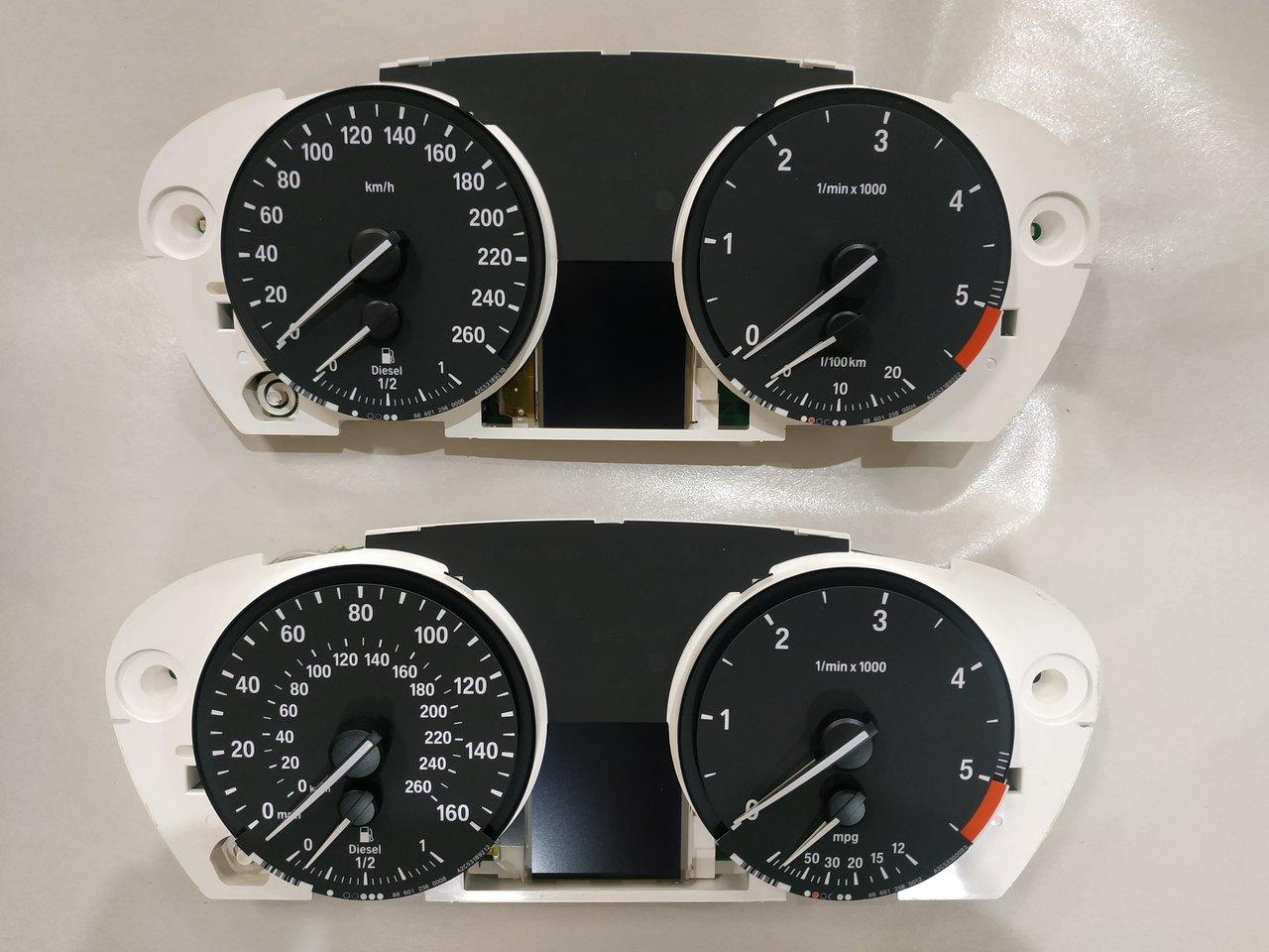 приборные панели X5 E70