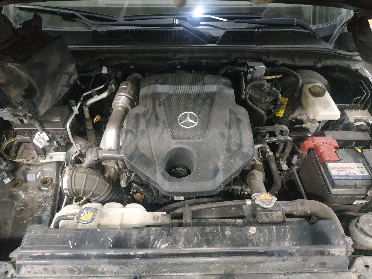 Чип тюнинг Mercedes X 250d