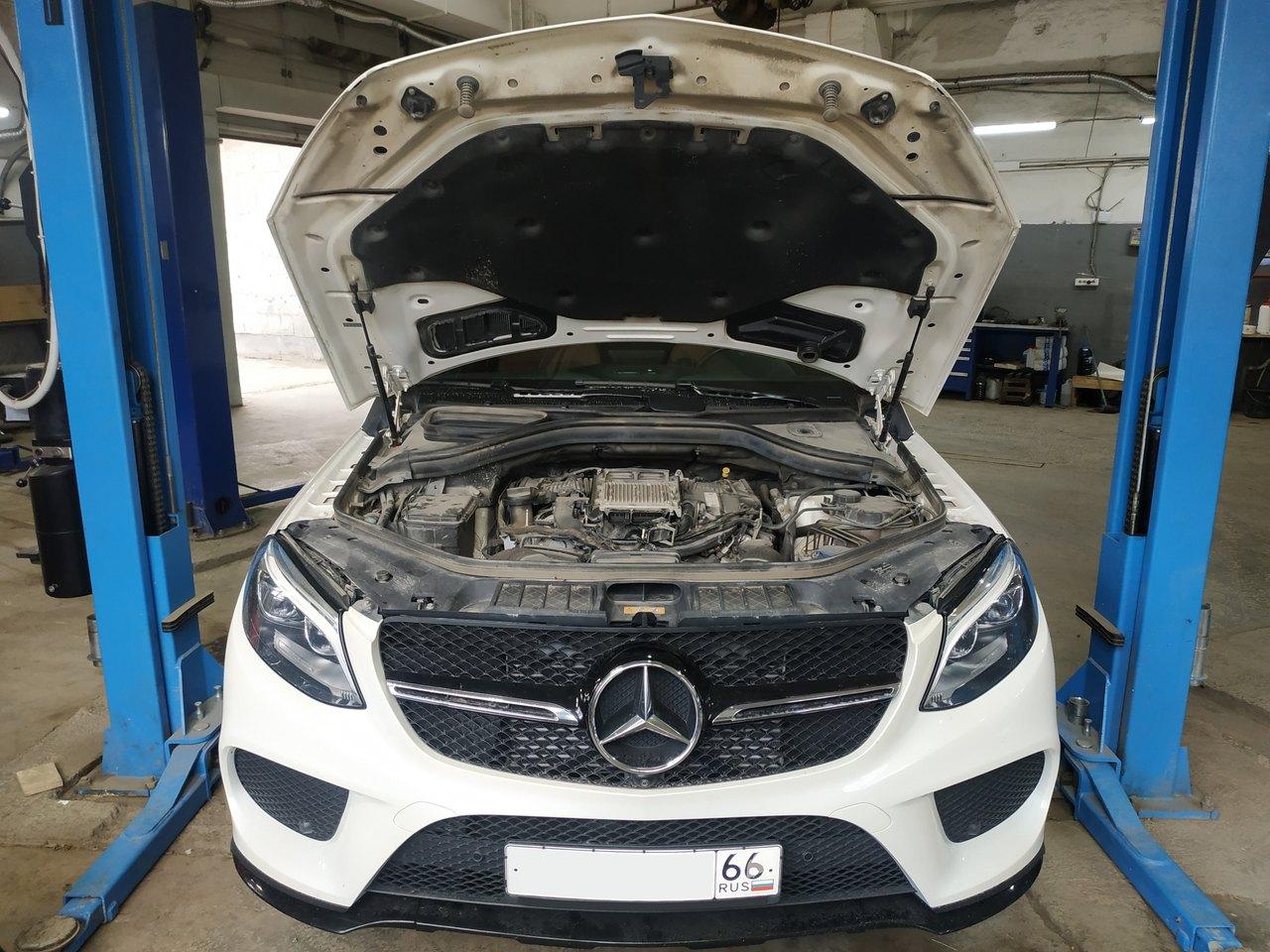 Чип тюнинг Mercedes Benz GLE 350d
