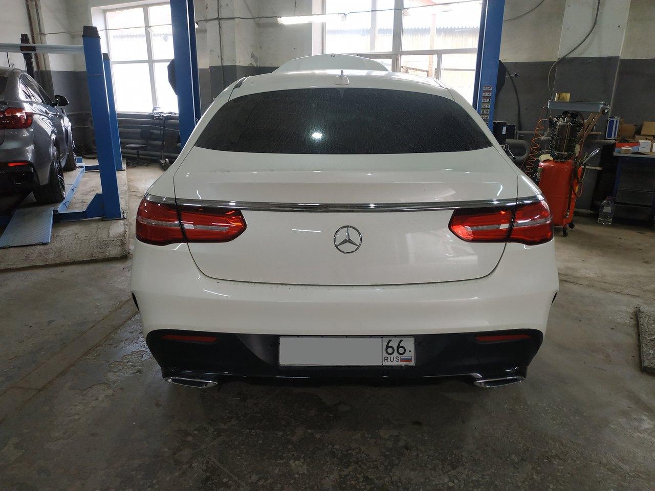 Mercedes GLE 350d 4МАТIС