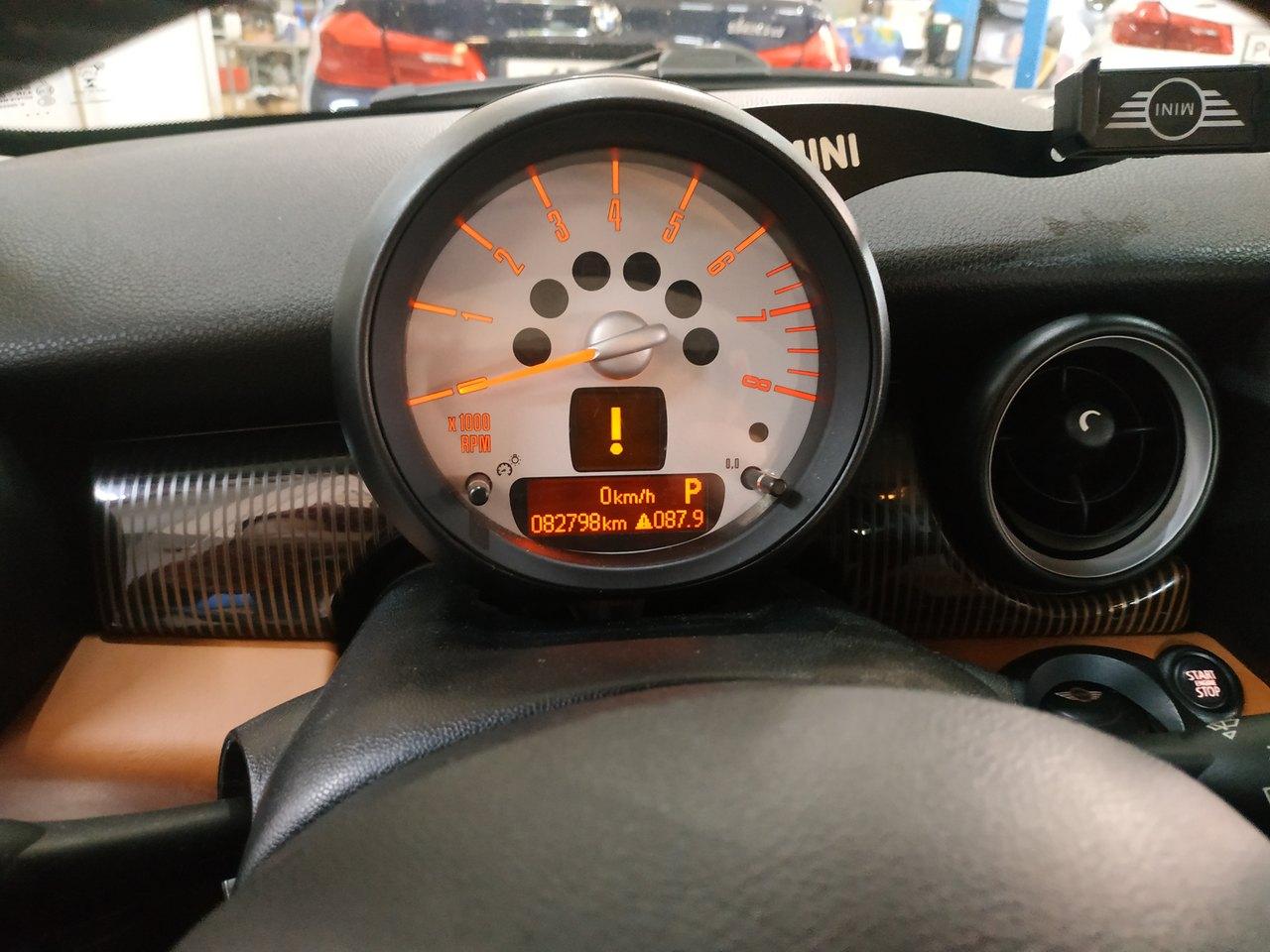 MINI Cooper R56, Check Engine