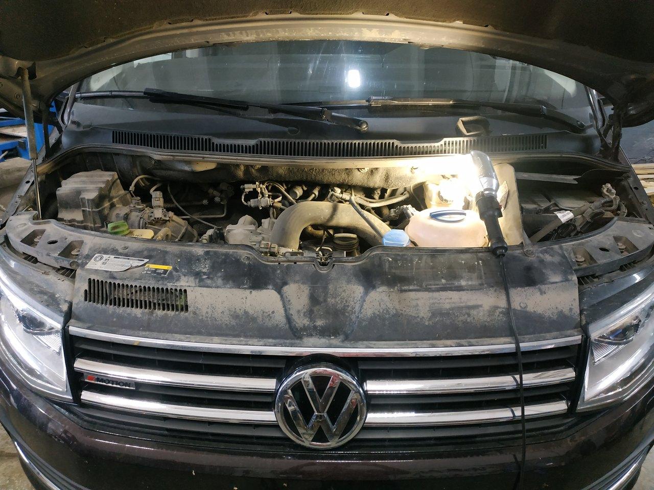 Двигатель 2.0 BiTDI, VW Multivan