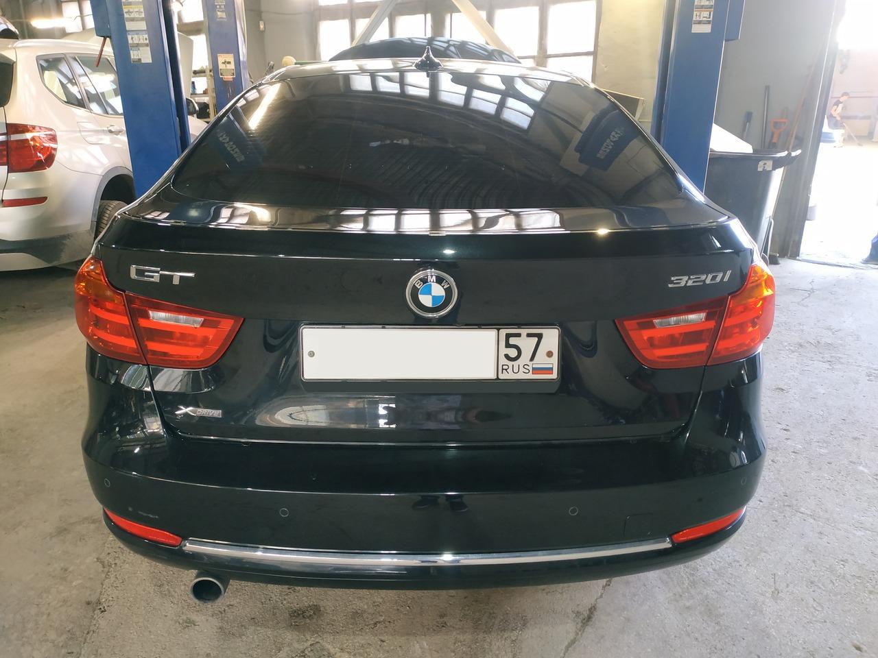 вид сзади, BMW F34 GT 320i 2016 г.в.