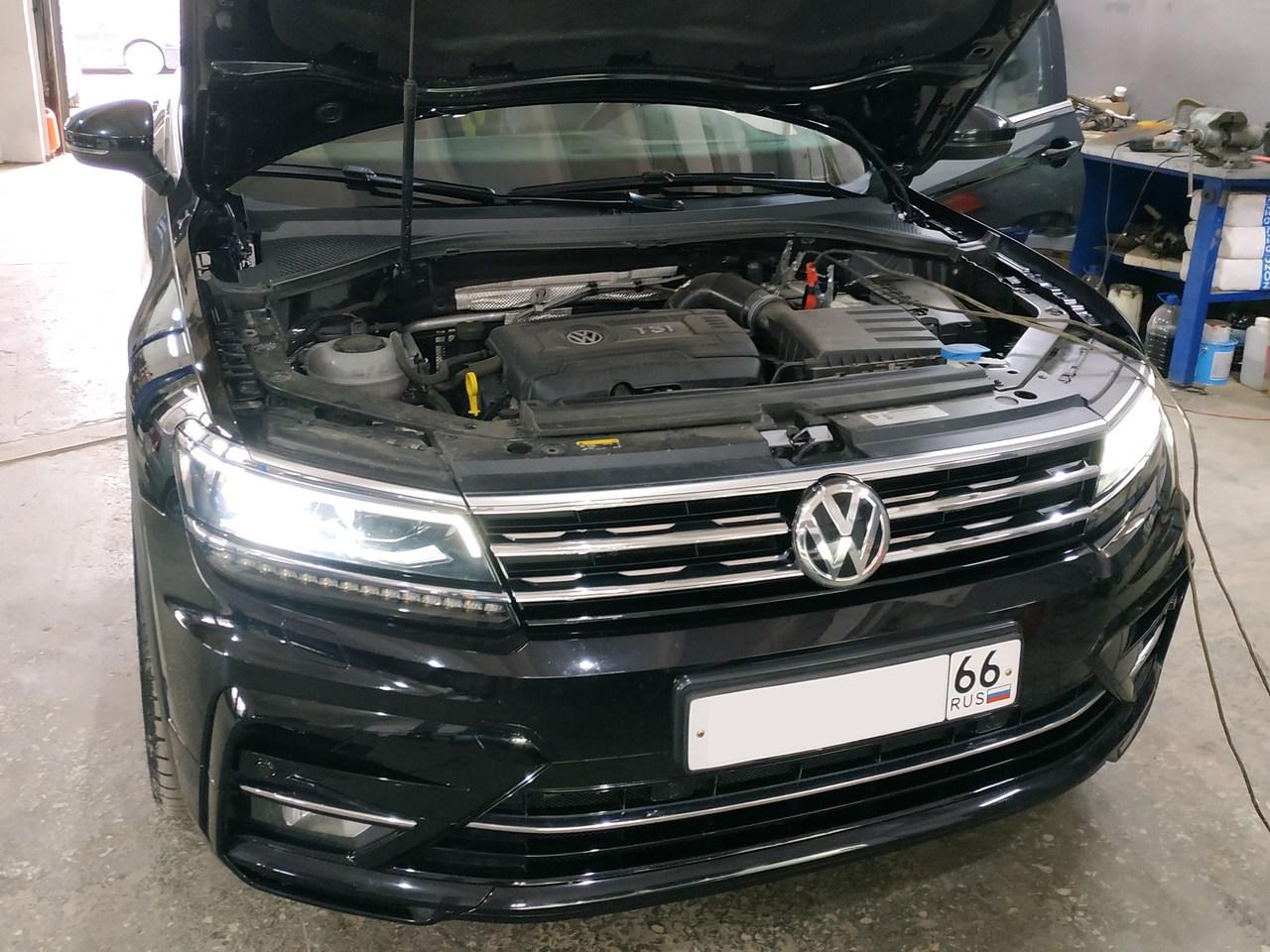 Чип тюнинг VW Tiguan 2.0 TSI