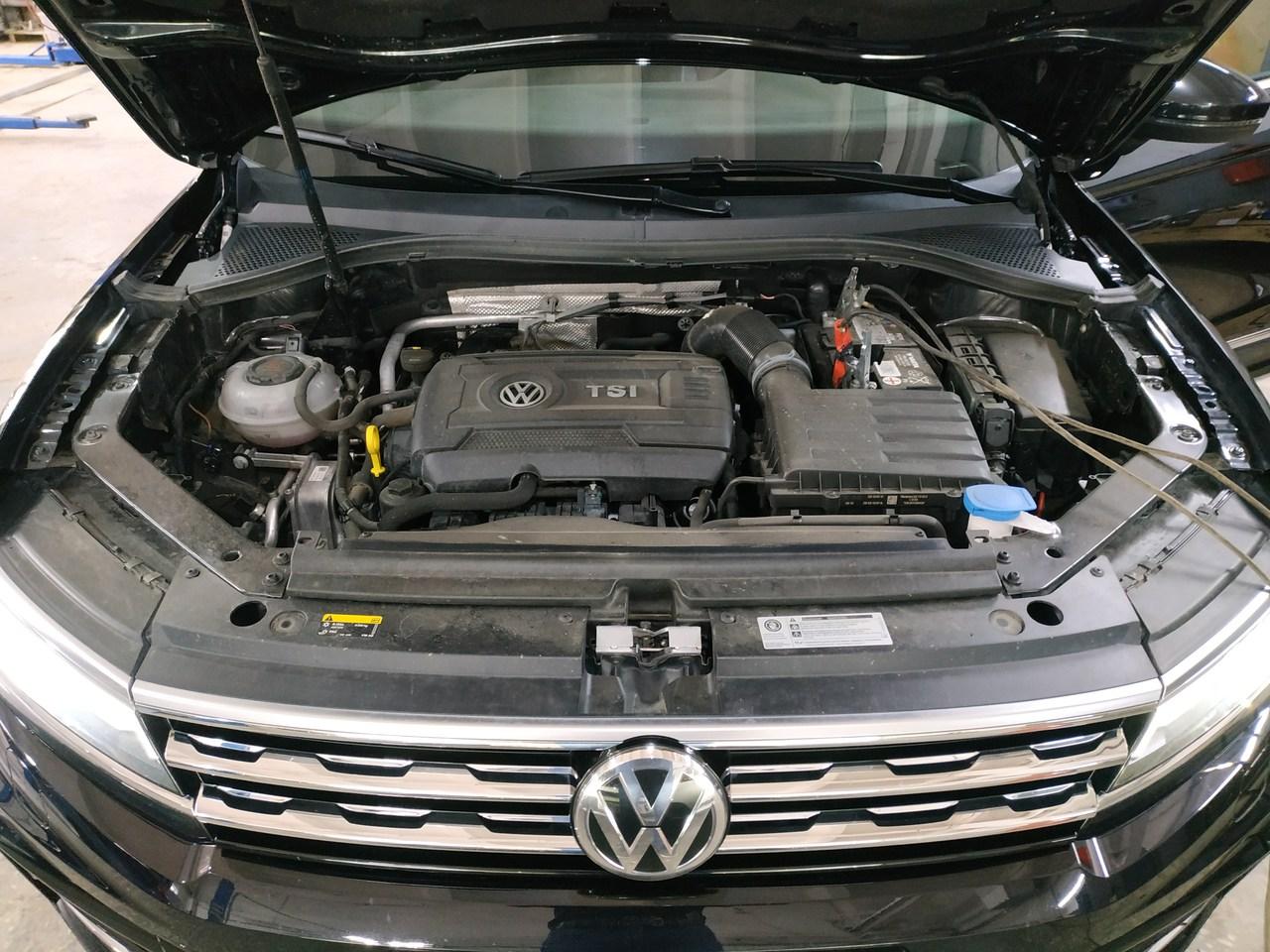 двигатель VW 2.0 TSI, чип тюнинг