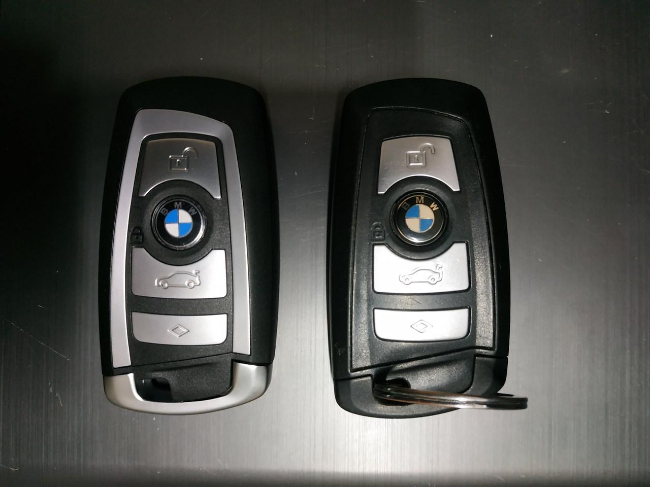 Дубликат и оригинальный ключ, брелок, BMW X3 F25