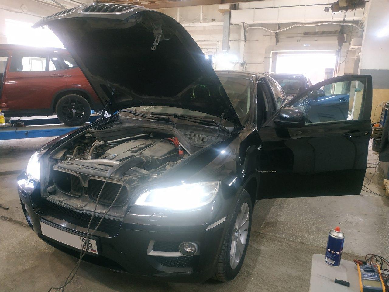 Чип тюнинг BMW X6 E71 35i