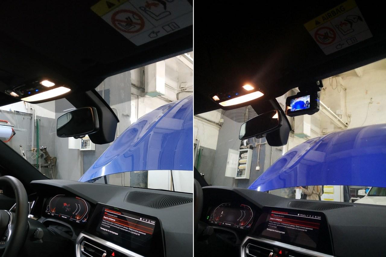 До и после установки видеорегистратора
