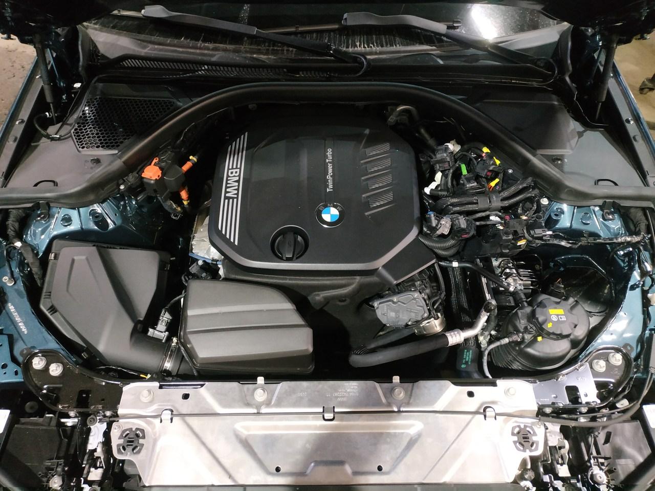 двигатель B47 2.0 л, BMW G20 318d