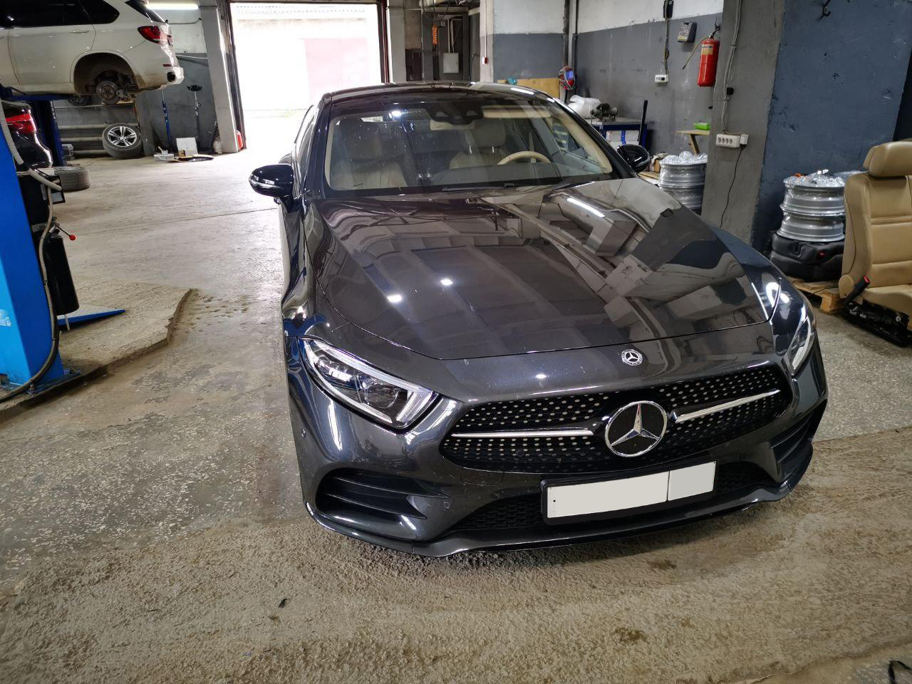 Mercedes Benz CLS C257 350D 2018 г.в.