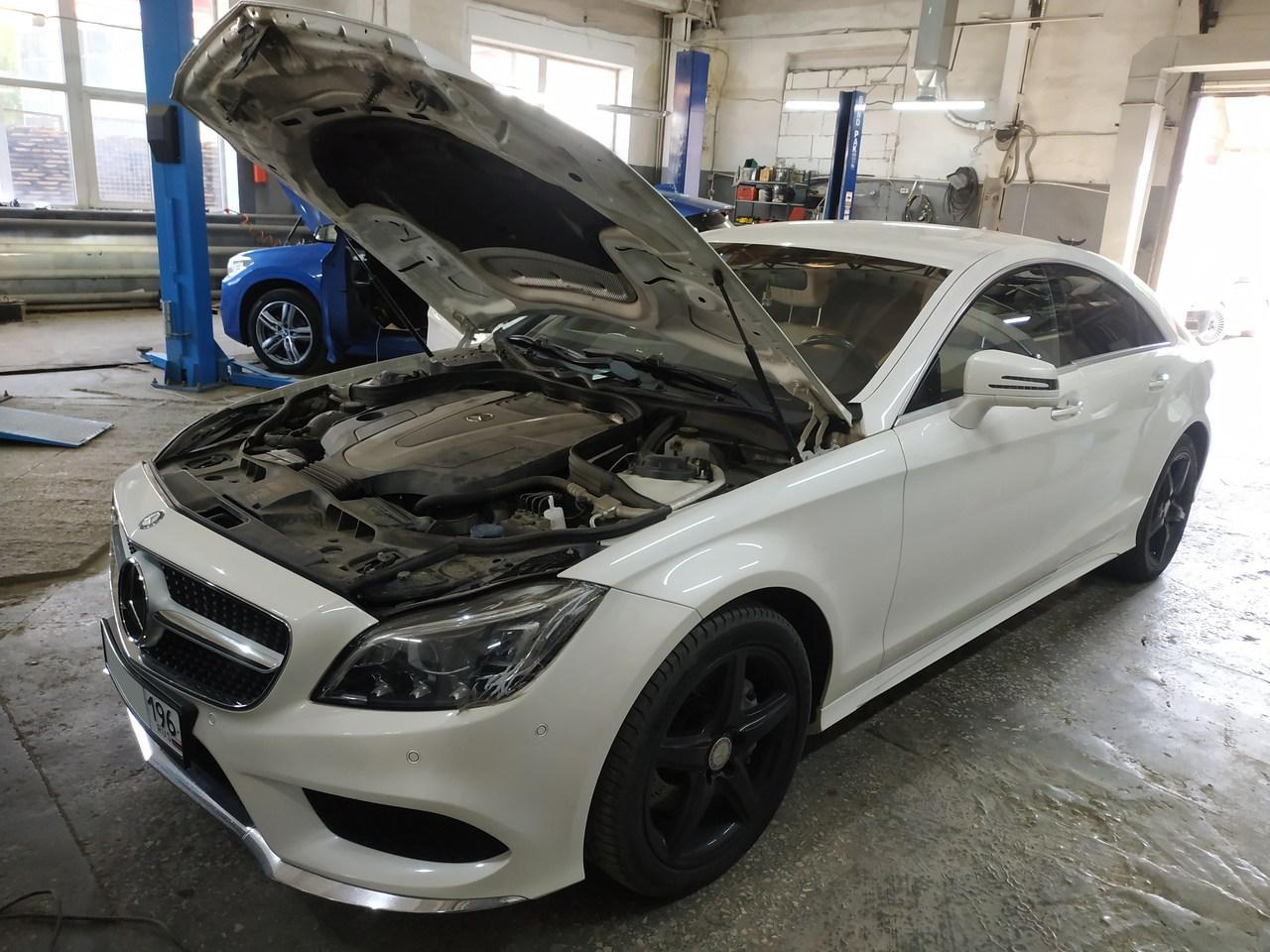 Mercedes Benz СLS 350 4МАТIС ВLUЕТЕС W218 2014 г.в.