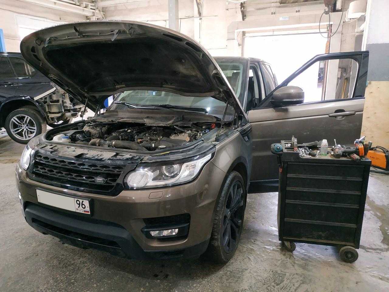 Range Rover Sport, отключение EGR