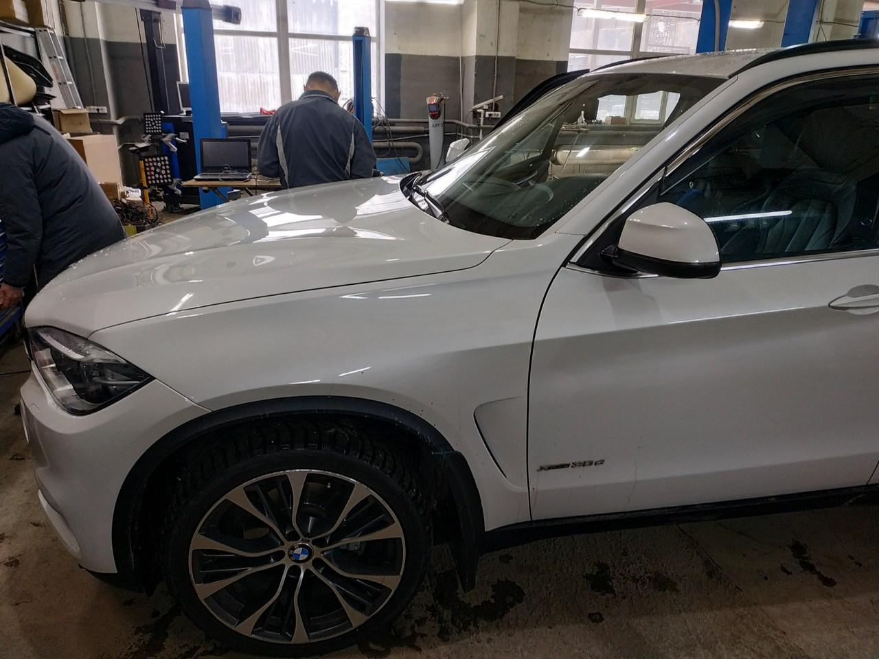 BMW X5 F15, установка автосигнализации