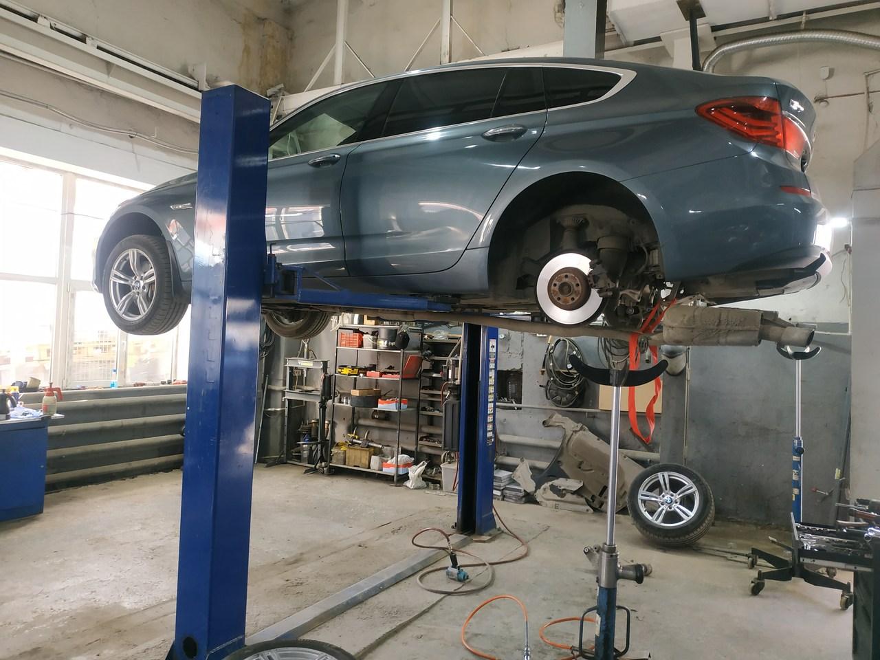 Комплексный ремонт F07 GT