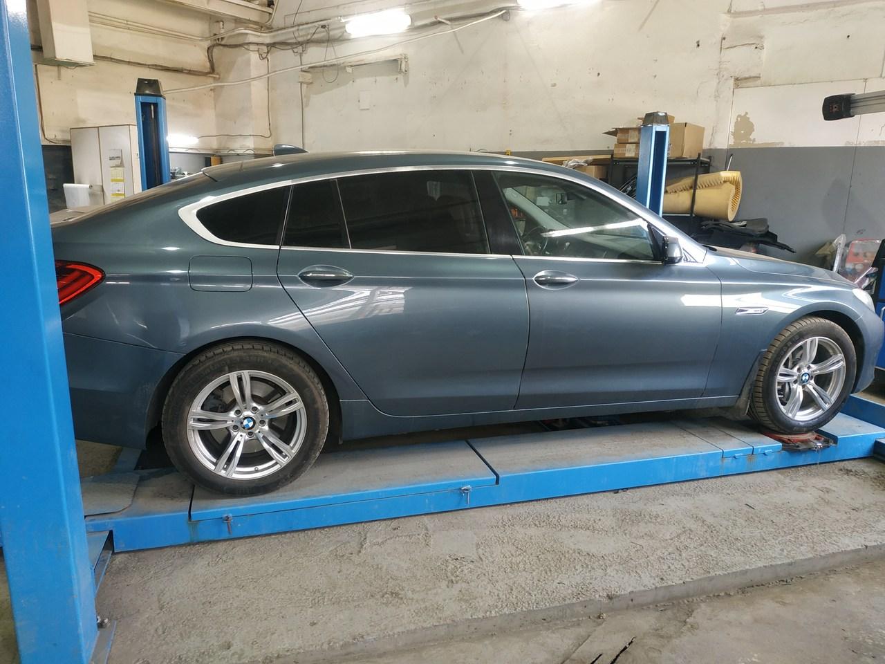 Сход развал BMW F07 GT
