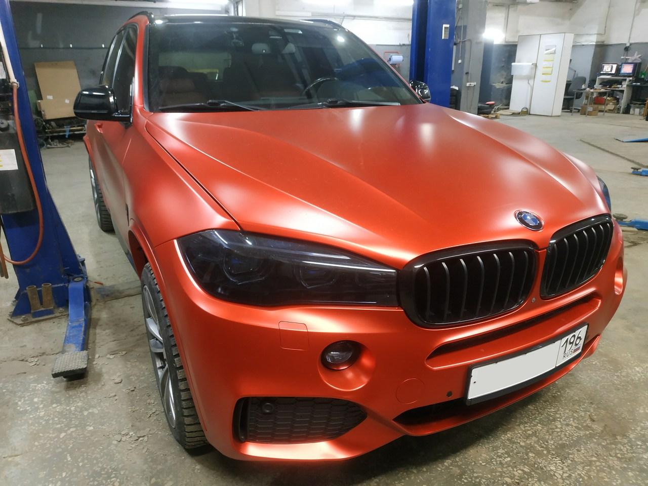 ремонт подвески BMW X5 F15