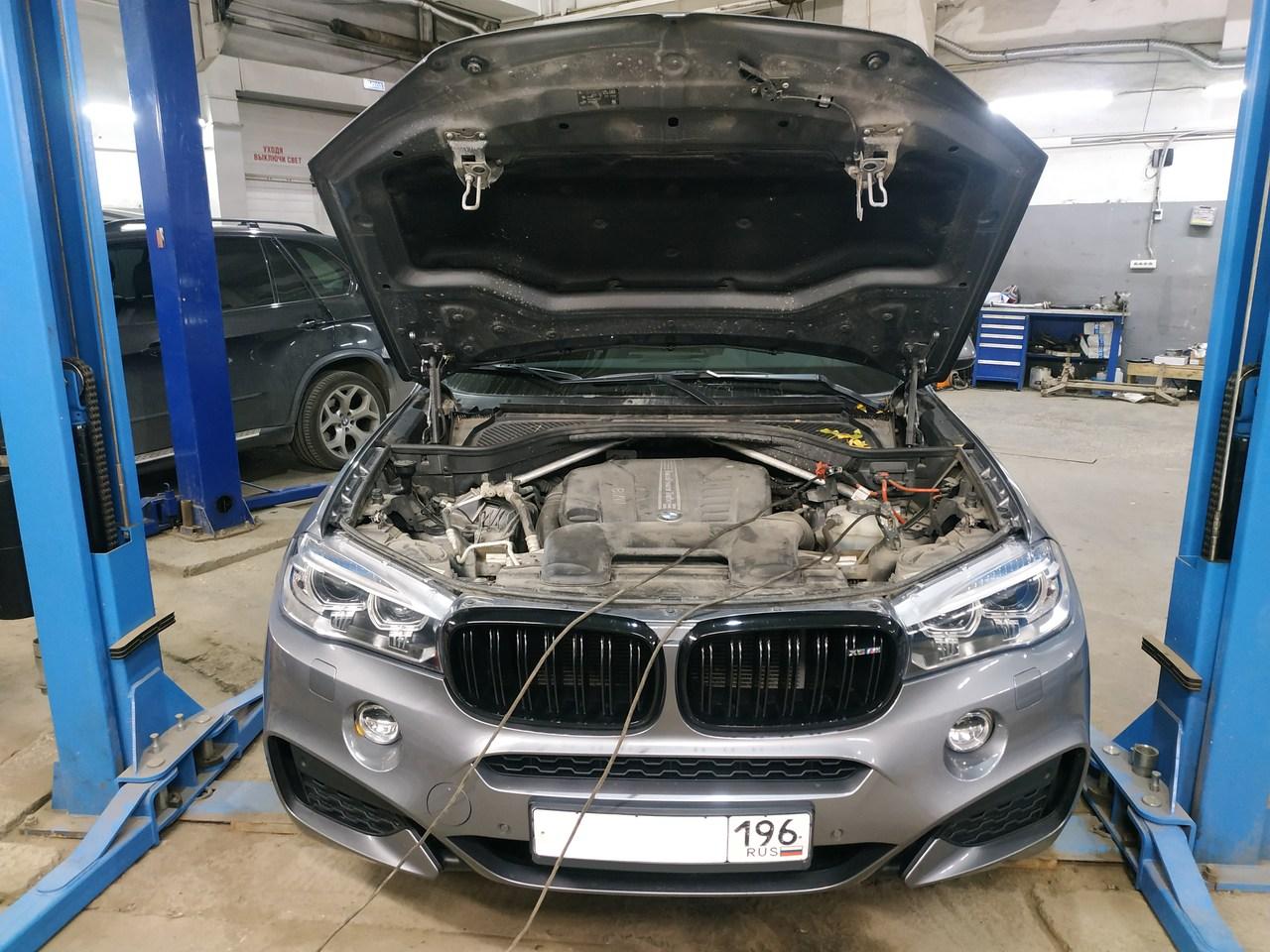 Чип тюнинг BMW F16 30d