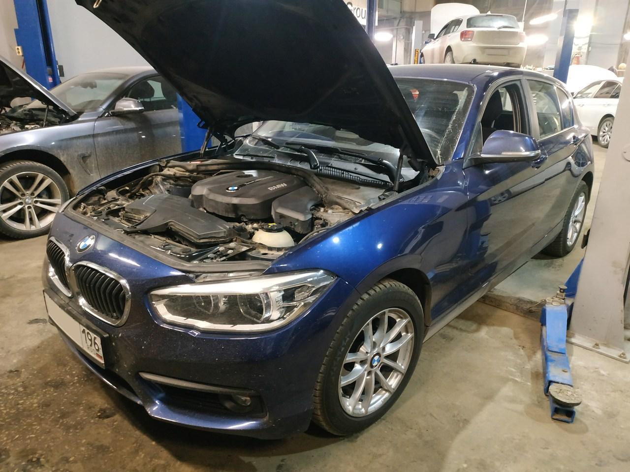 BMW F20 118i, 2017 год выпуска