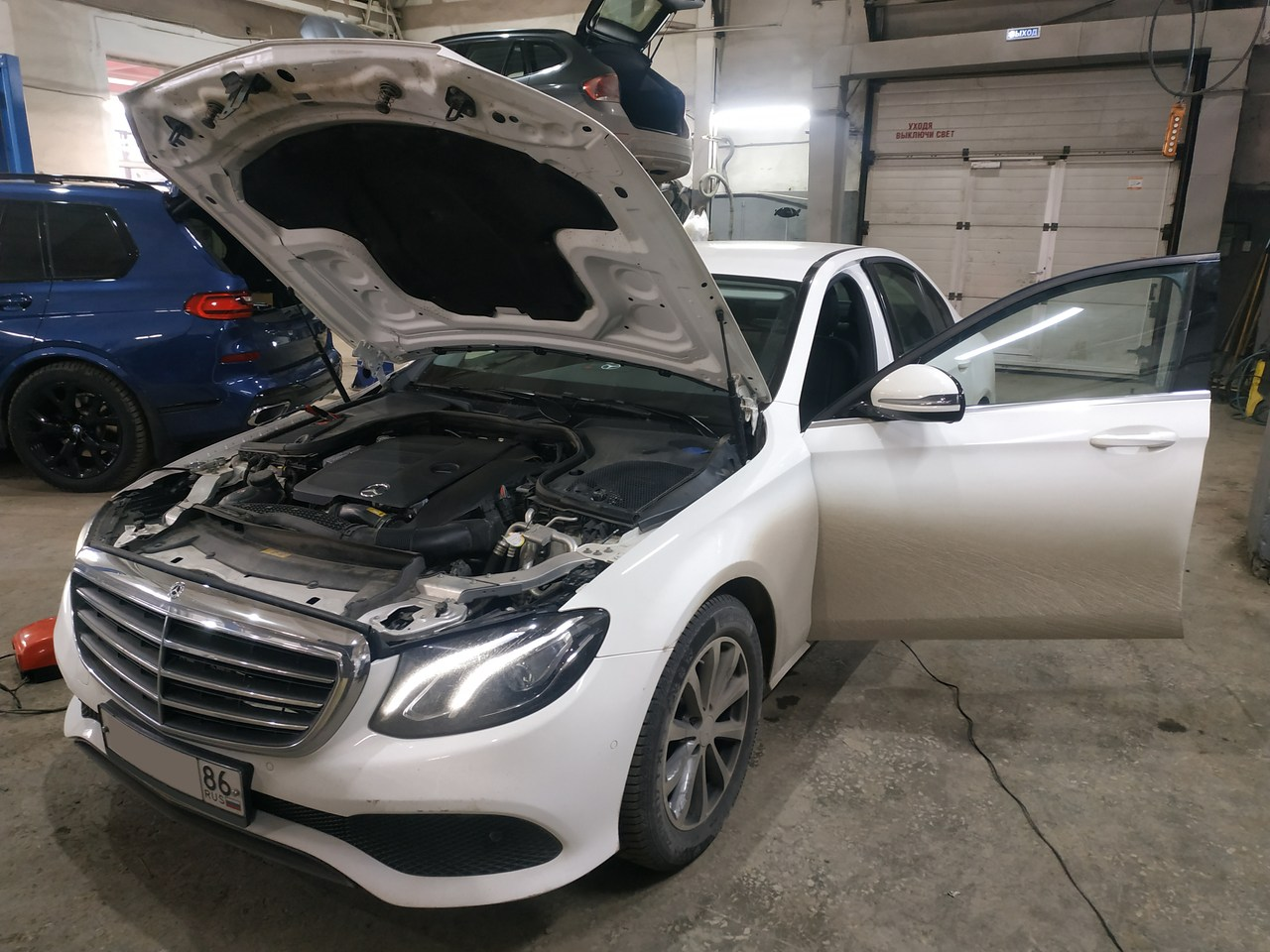 чип тюнинг, Mercedes Benz E200 W213