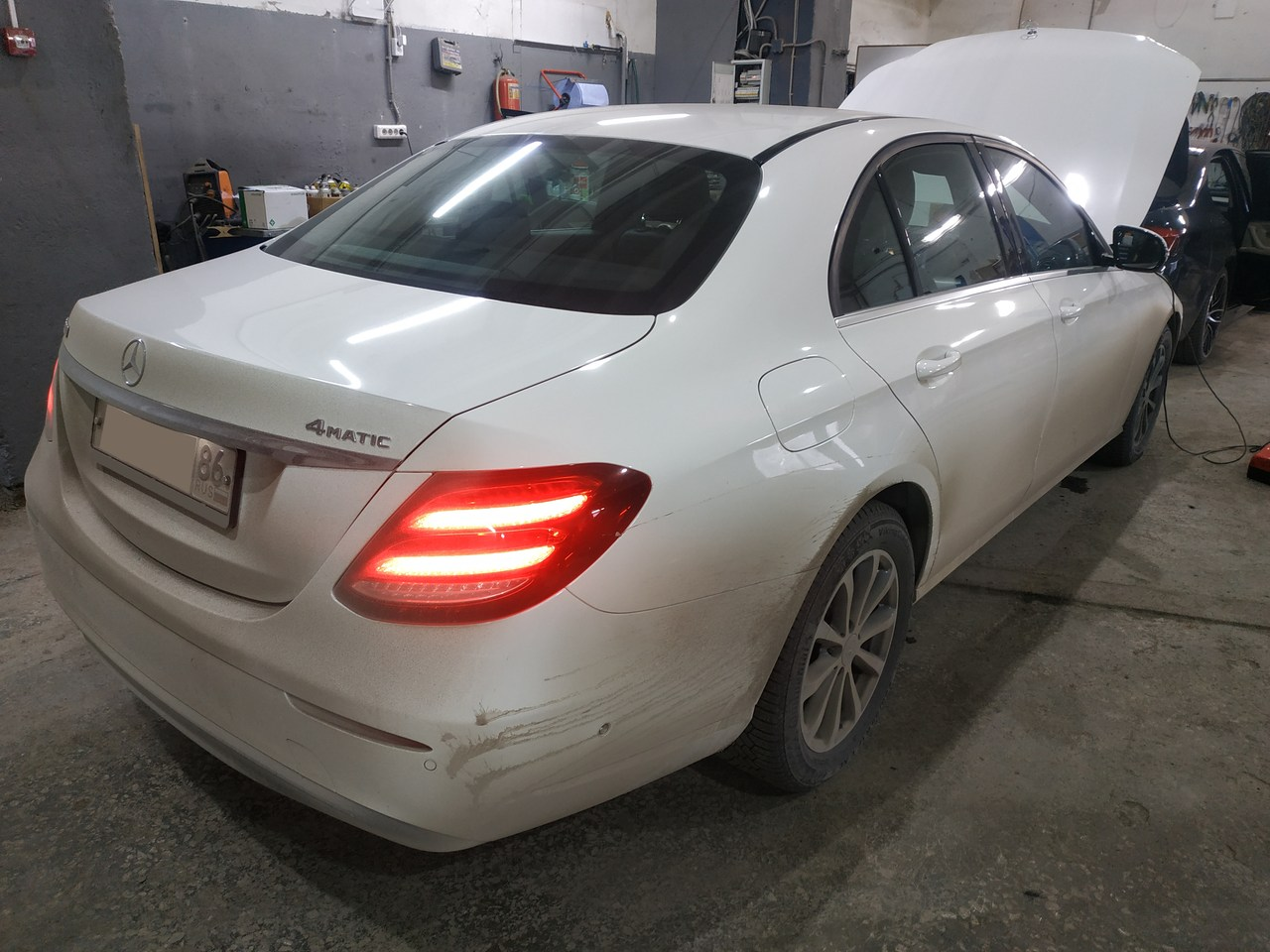 Mercedes Benz E 200, чип тюнинг