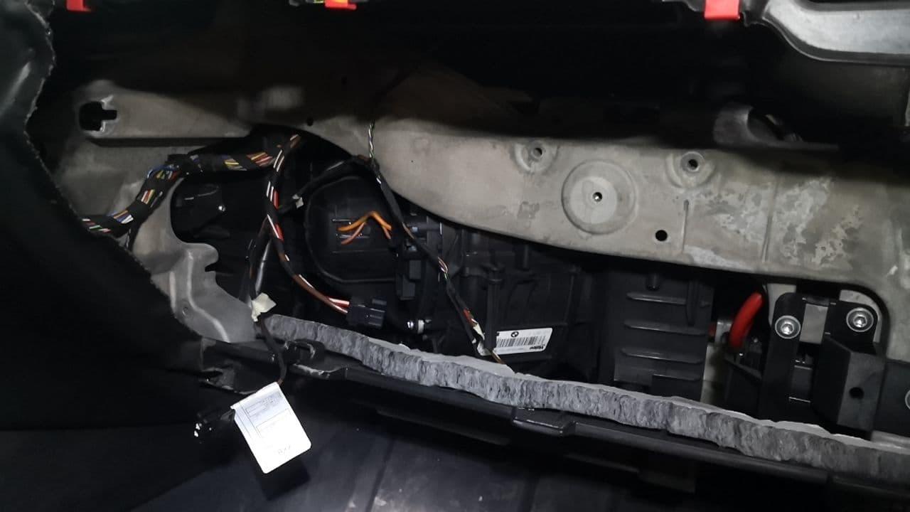 вентилятор отопителя салона, BMW F15