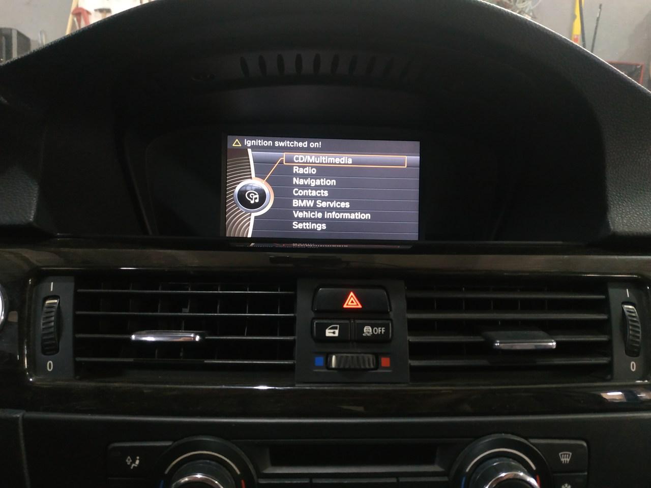 головное устройство CIC Mid, BMW E92