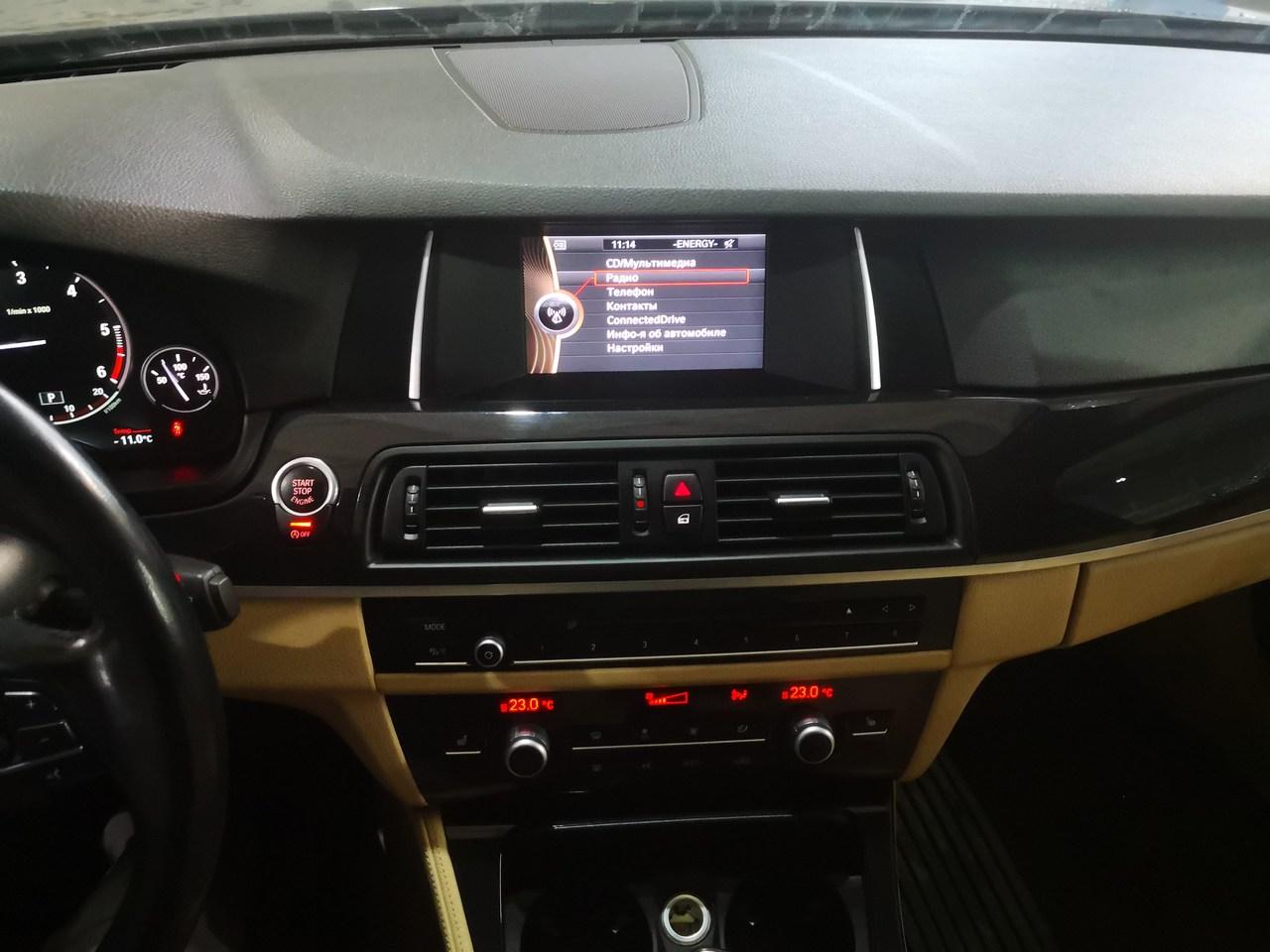 HU Entry, BMW F10