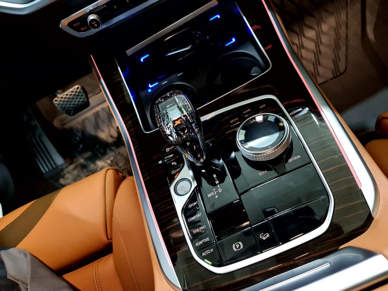 хрустальная ручка КПП, BMW G05 X5