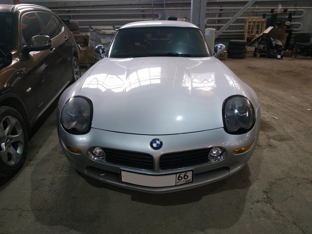 вид спереди, BMW Z8
