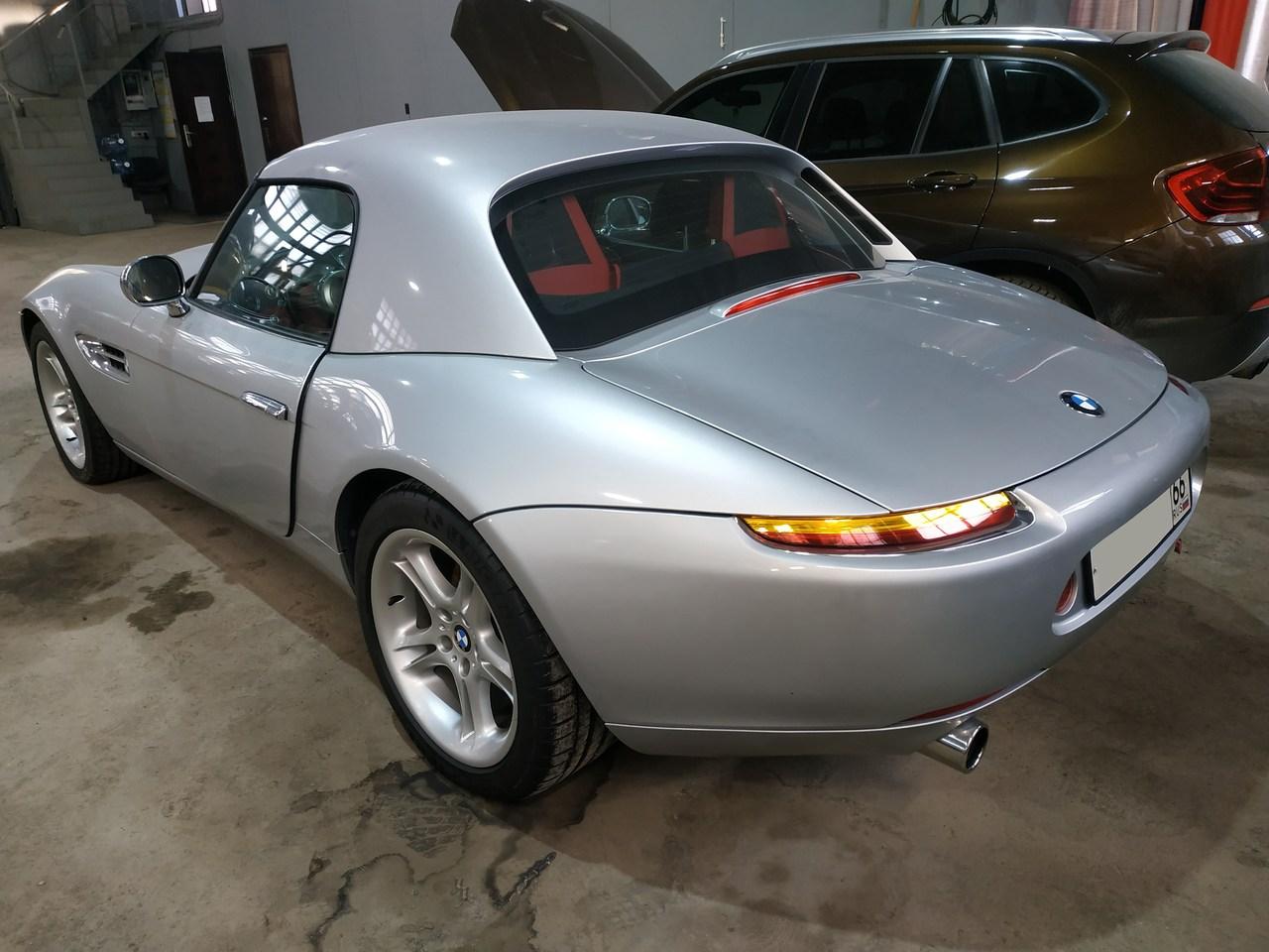 вид сзади, BMW Z8