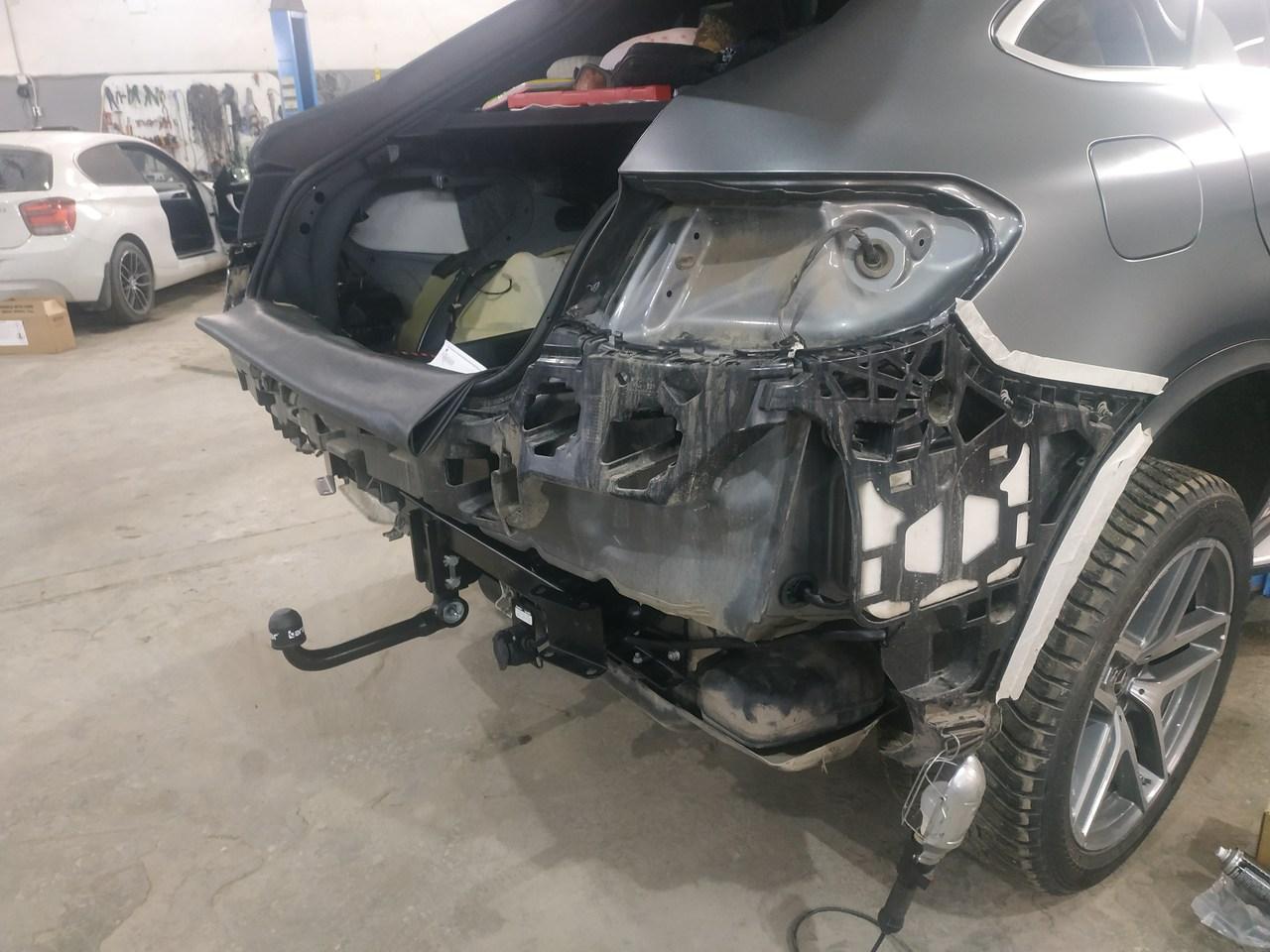 установка ТСУ, Mercedes Benz GL-класс