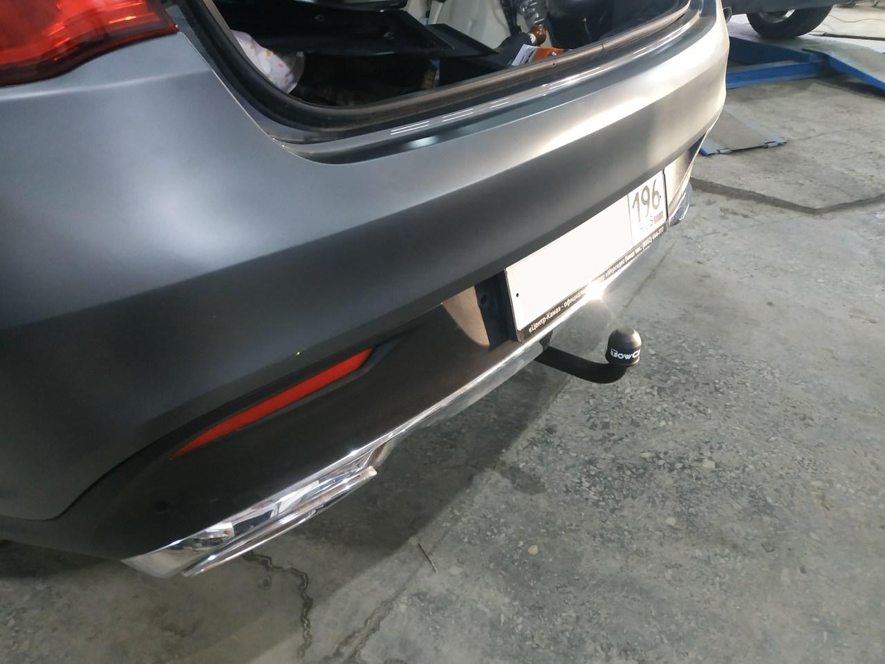 фаркоп, Mercedes Benz GLE 350D