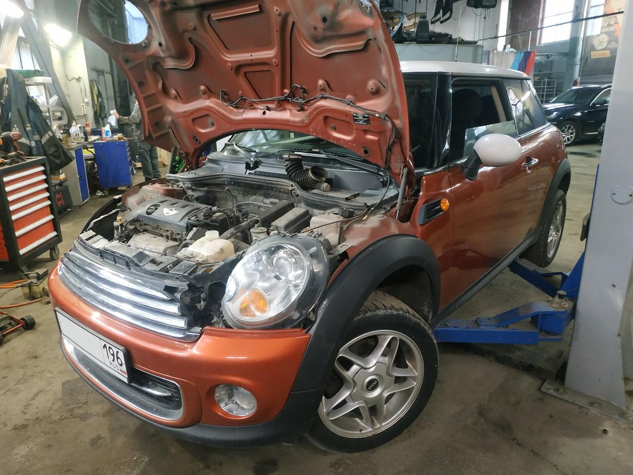 ремонт топливной системы Mini Cooper R56