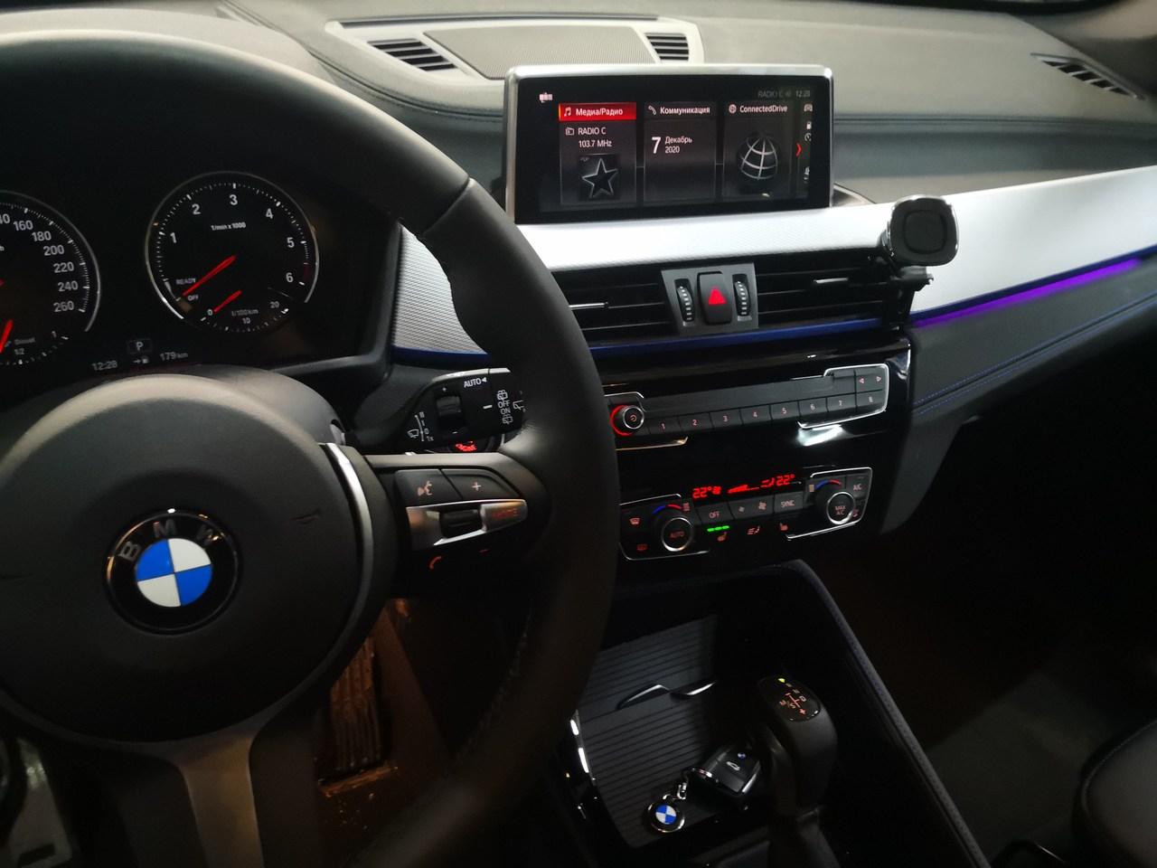 дооснащение BMW X1 F4 устройством NBT