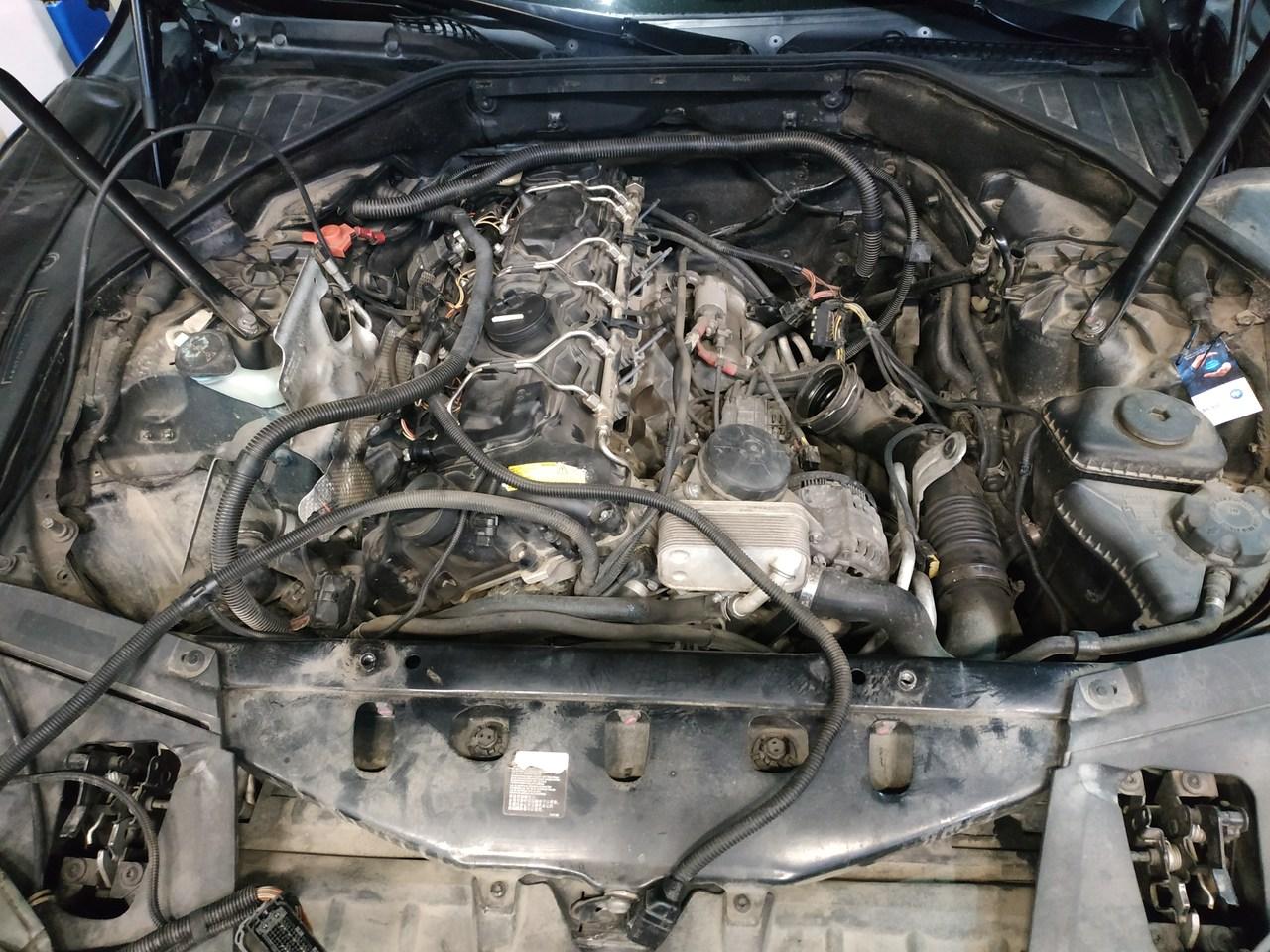 под капотом BMW F02
