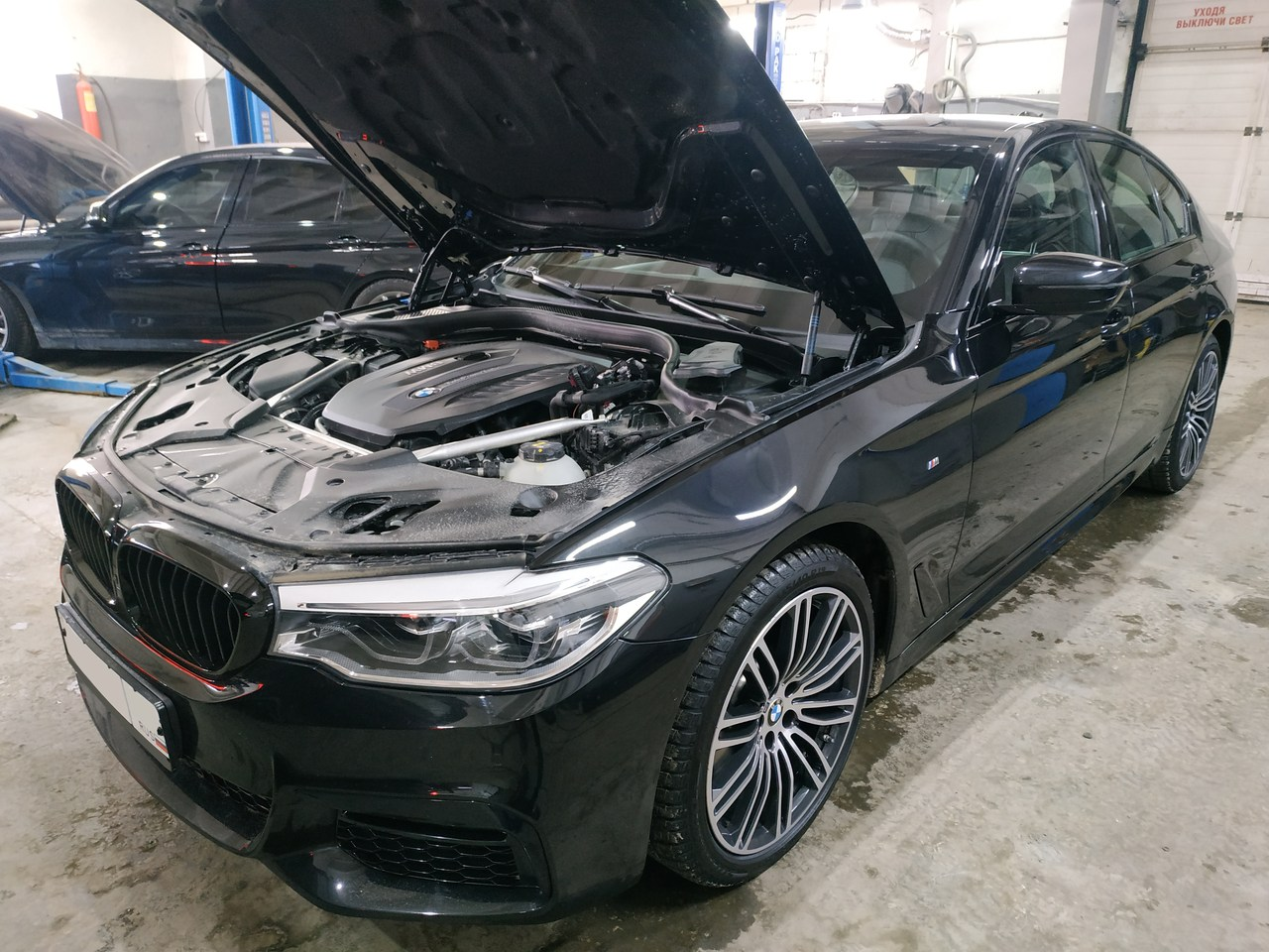 чип тюнинг Stage1+, BMW G30 530d