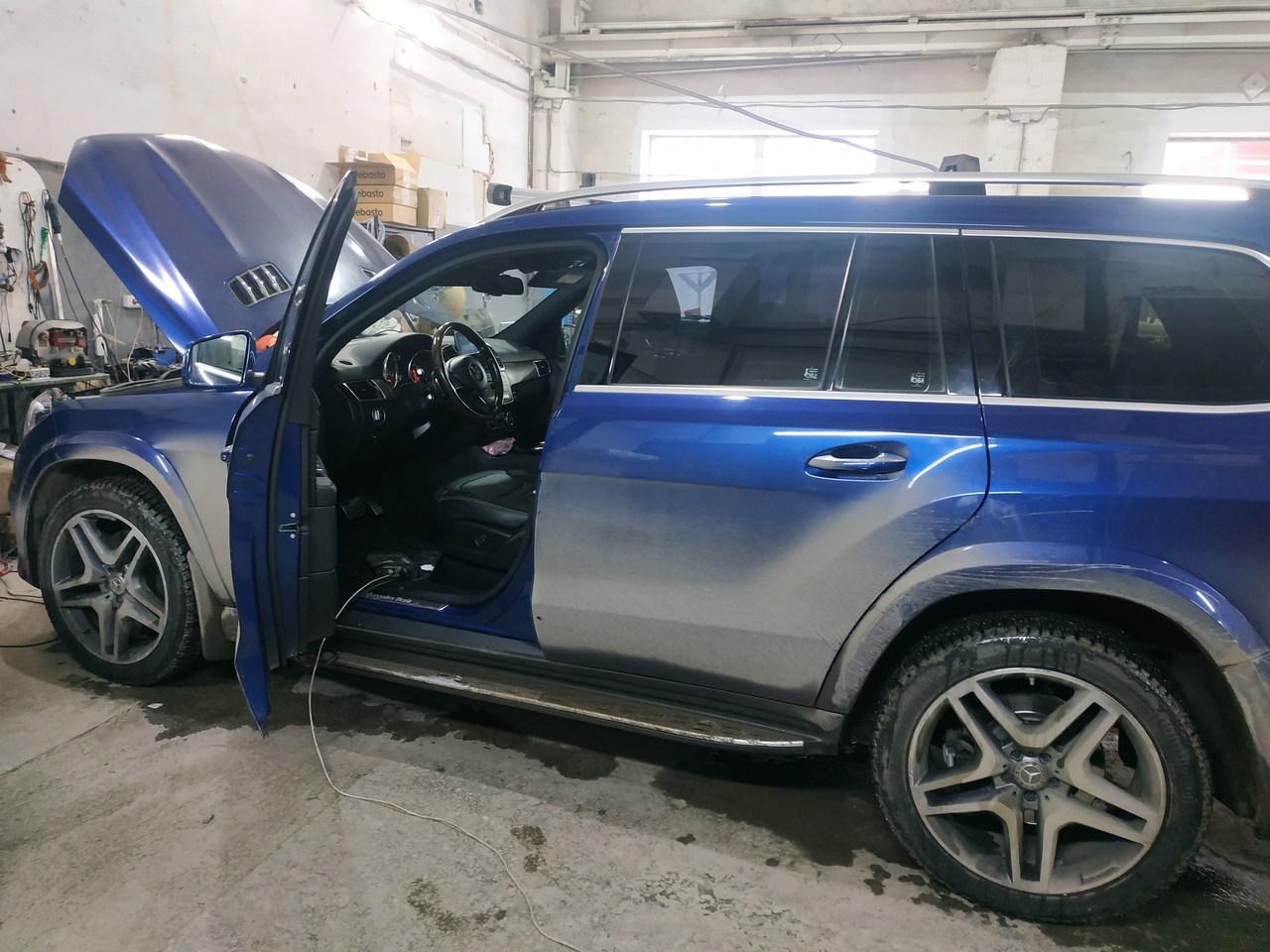 Отключение  AdBlue, Mercedes GLS 350d