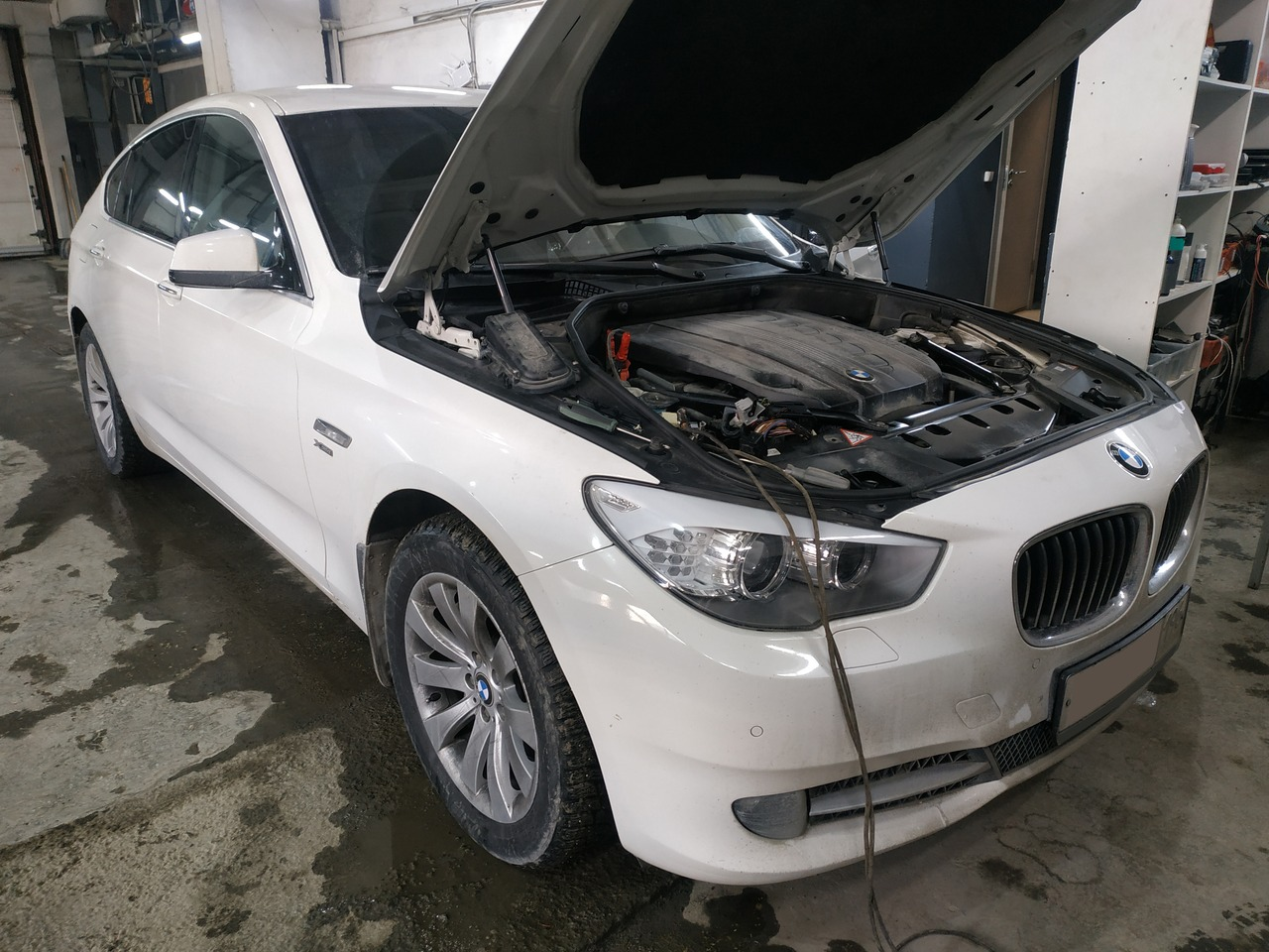 чип тюнинг BMW F07 GT 530d