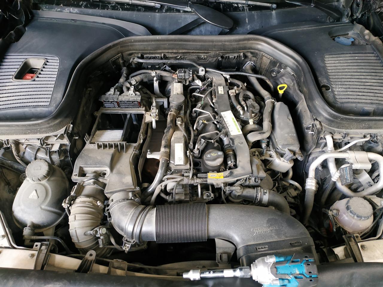 Mercedes Benz GLС 250D, удаление мочевины AdBlue