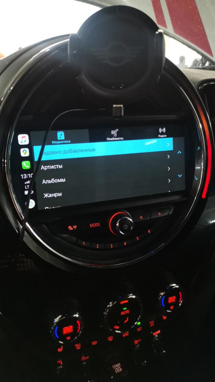 Apple Carplay на полный экран, Carlay Full Screen, MINI F60