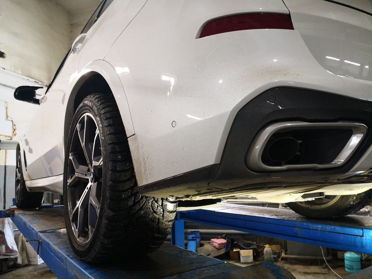 вид сзади, BMW X5 G05